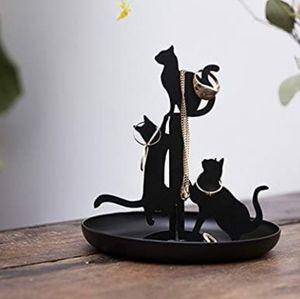 Black Cat Jewelry Dish/Stand